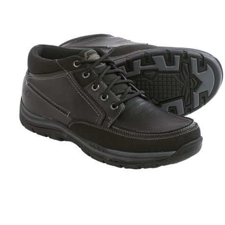Skechers Relaxed Fit Expected Cason Chukka Boots - Leather (For Men)