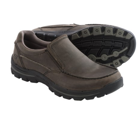 Skechers Relaxed Fit Braver Rayland Shoes - Slip-Ons (For Men)