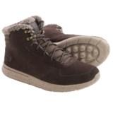 Skechers GOwalk City Sierra Suede Boots (For Men)