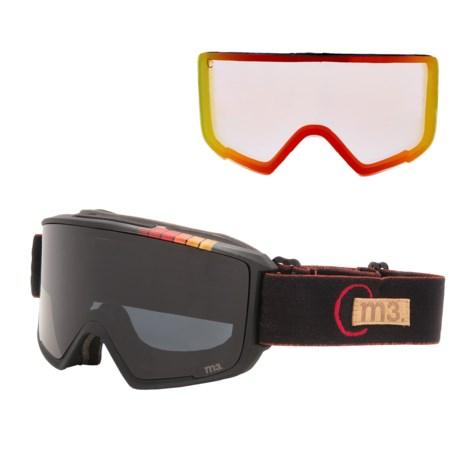 Anon M3 Ski Goggles - Extra Lens, Neck Gaiter