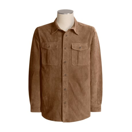 TravelSmith Washable Suede Shirt - Long Sleeve (For Men)