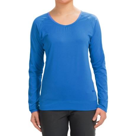 Tabasco Sport V-Neck Shirt - Long Sleeve (For Women)