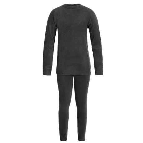 Burton Fleece Dry Base Layer Set - 2-Piece (For Little and Big Kids)