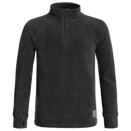 Burton Stretch Fleece Base Layer Top - Zip Neck (For Little and Big Kids)