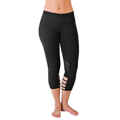 Glyder Be Bold Crop Leggings (For Women)