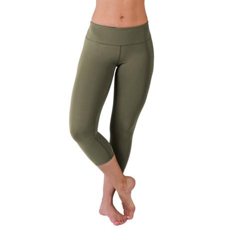 Glyder Mantra Crop Leggings (For Women)