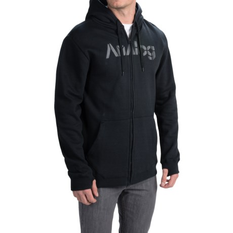 Analog Mobilize Hoodie - Full Zip (For Men)