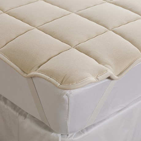 DownTown Wool-Filled Mattress Pad - Queen