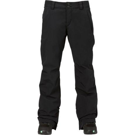 Burton Aero Gore-Tex® Snowboard Pants - Waterproof, Insulated (For Women)