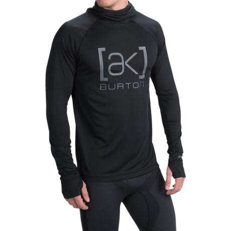 Burton AK Polartec® Power Grid® Hooded Shirt - UPF 50+, Long Sleeve (For Men)