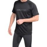 Burton AK Polartec® Power Grid® Crew Neck Shirt - UPF 50+, Short Sleeve (For Men)