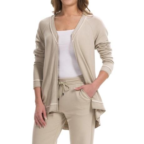 Lafayette 148 New York Zip-Front Cardigan Sweater (For Women)