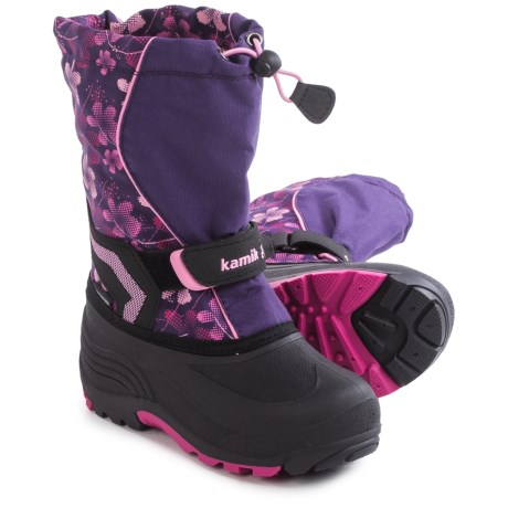 Kamik Snowbank 2 Pac Boots - Waterproof, Multicolored (For Toddlers)