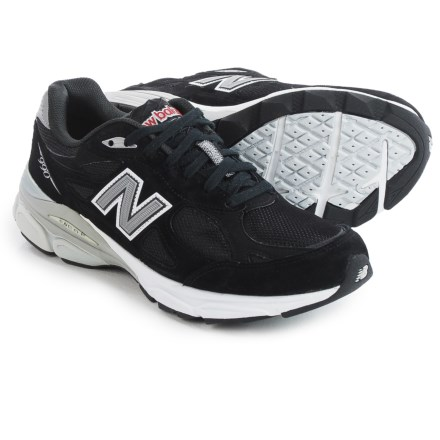 New Balance 990v3 Running Shoes (For Men) in Black - Closeouts