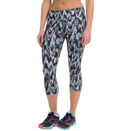 Balance Collection by Marika Printed SDW Capris (For Women)