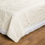 DownTown Natural Choices Silk-Filled Comforter - Twin