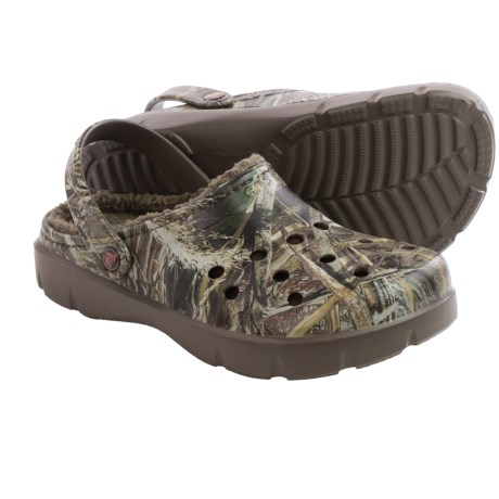 Crocs Dasher Realtree Max-5® Lined Clogs (For Men and Women)