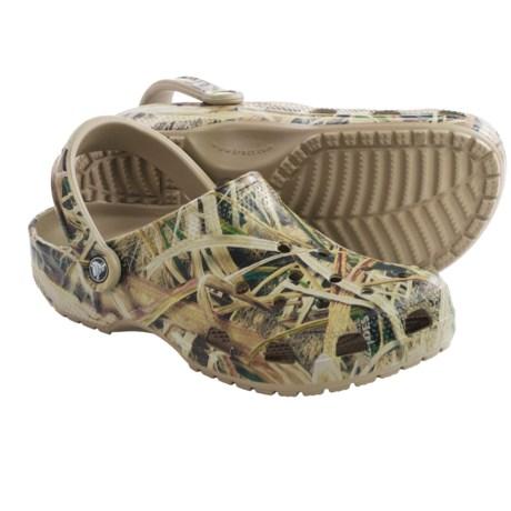 Crocs Classic Mossy Oak® Shadow Grass® Clogs (For Men)