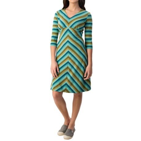 Royal Robbins Essential TENCEL® Stripe Dress - Long Sleeve (For Women)