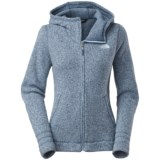 The North Face Crescent Sunset Fleece Hoodie - Full Zip (For Women)