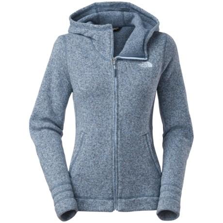 The North Face Crescent Sunset Fleece Hoodie - Full Zip (For Women)