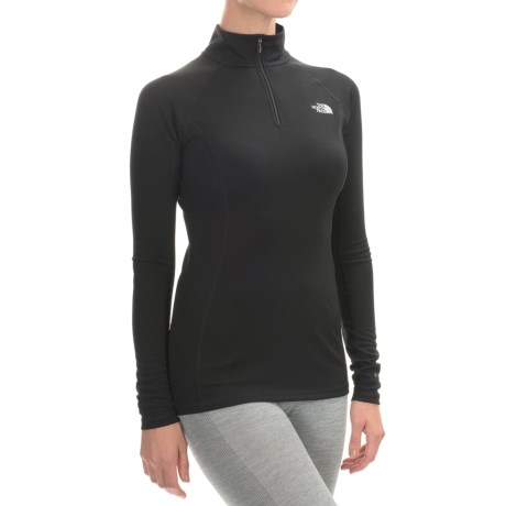 The North Face Light Base Layer Top - Zip Neck, Long Sleeve (For Women)