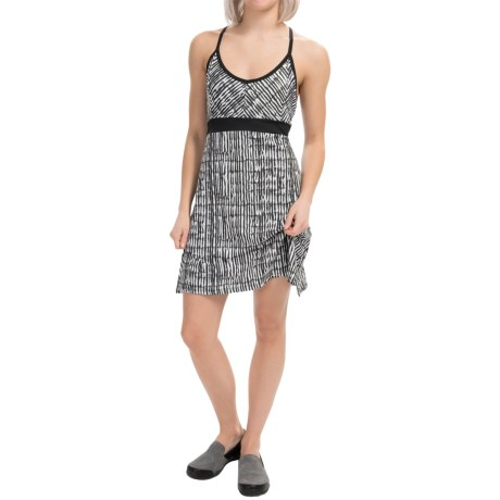 Tehama V-Neck Slider Dress - Racerback, Sleeveless (For Women)