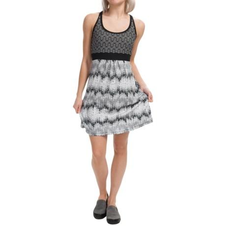 Tehama Twining Cross-Back Dress - Built-In Shelf Bra, Sleeveless (For Women)