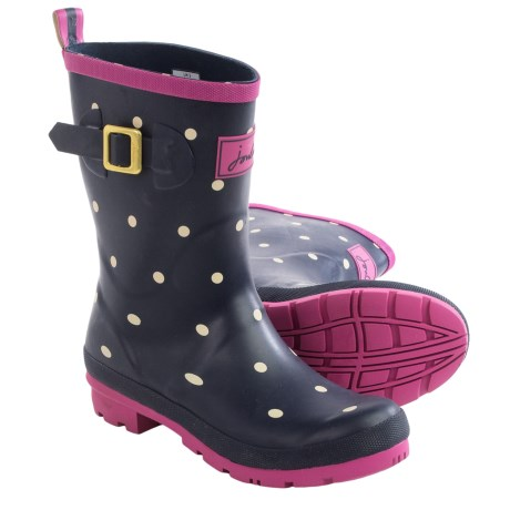 Joules Molly Welly Spot Rain Boots - Waterproof (For Women)