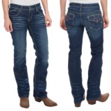 Cruel Girl Blake Slim Bootcut Jeans - Low Rise (For Women)