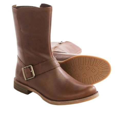 Timberland Savin Hill Mid Boots - Leather (For Women)