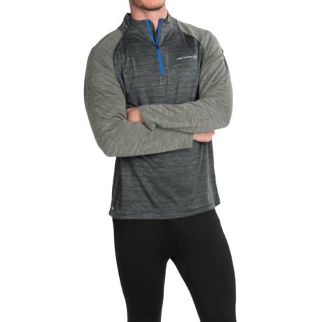 Free Country Sport-Tek Shirt - Zip Neck, Long Sleeve (For Men)