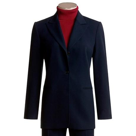 Hawksley & Wight Worsted Woolmark® Wool Jacket - 3-Button (For Women)
