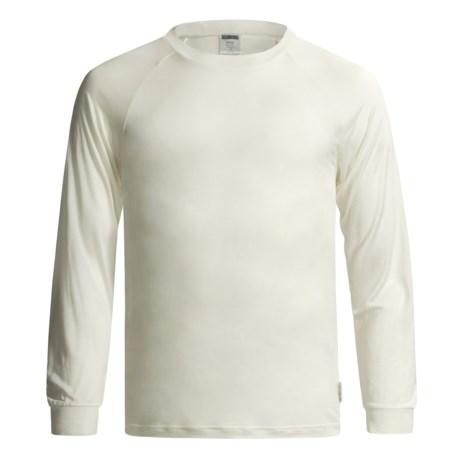 Terramar Silk Base Layer Top - Lightweight, Long Sleeve (For Men)