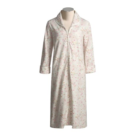 Anne Lewin Vintage Medley Robe - Ultra-Brushed Cotton (For Women)