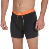 SAXX Underwear Fiesta Boxer Briefs (For Men)