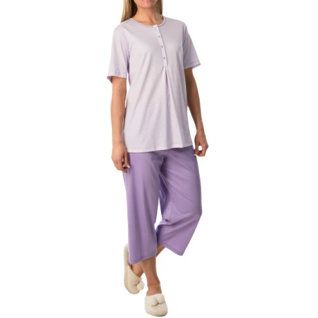 Calida Lady Tulip Damen Pajamas - Short Sleeve (For Women)