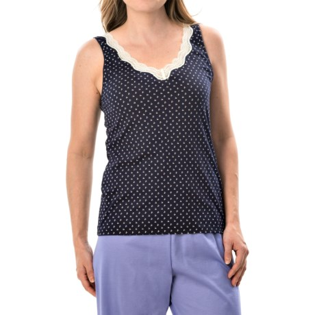 Calida Vanilla Crumbles Tank Top - Supima® Cotton (For Women)
