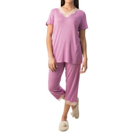 Calida Sunset Flavour Pajamas - Short Sleeve (For Women)
