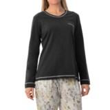 Calida Favourites Trend 5 Shirt - Cotton, Long Sleeve (For Women)