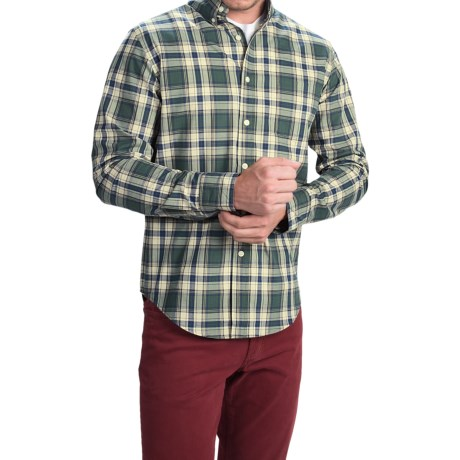 Bills Khakis Standard Issue Glen Plaid Shirt - Classic Fit, Long Sleeve (For Men)