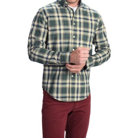 Bills Khakis Standard Issue Glen Plaid Shirt - Classic Fit, Long Sleeve (For Men)