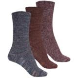 Muk Luks Marled Socks - 3-Pack, Crew (For Women)