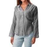 dylan Ibiza Crochet Shirt - Long Sleeve (For Women)