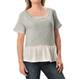 dylan Vintage Faith Shirt - French Terry Cotton, Short Sleeve (For Women)