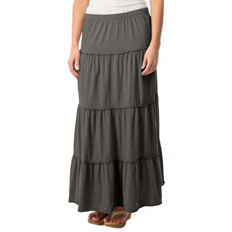dylan Tiered Skirt - Organic Cotton (For Women)