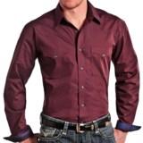 Panhandle Slim Print Shirt - Snap Front, Long Sleeve (For Men)