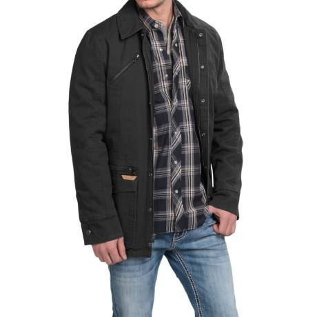 Powder River Outfitters Billings Snow-Washed Canvas Coat (For Men)