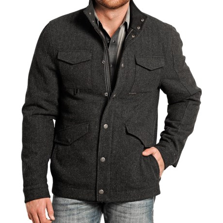 Powder River Outfitters Lyndon Wool Coat (For Men)