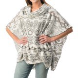 dylan Navajo French Terry Poncho (For Women)